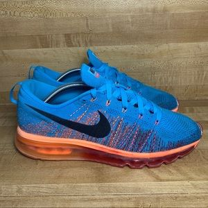 2013 Nike Flyknit Air MaxArticle Vivid Size 10